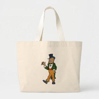 Leprechaun Gentleman Canvas Bag