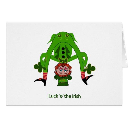 Leprechaun Greeting Card - St. Patrick's Day