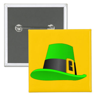 Leprechaun Hat With Buckle Buttons