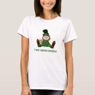 leprechaun, I see green people T-Shirt