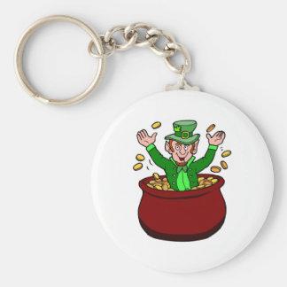 Leprechaun In Alabama Keychains