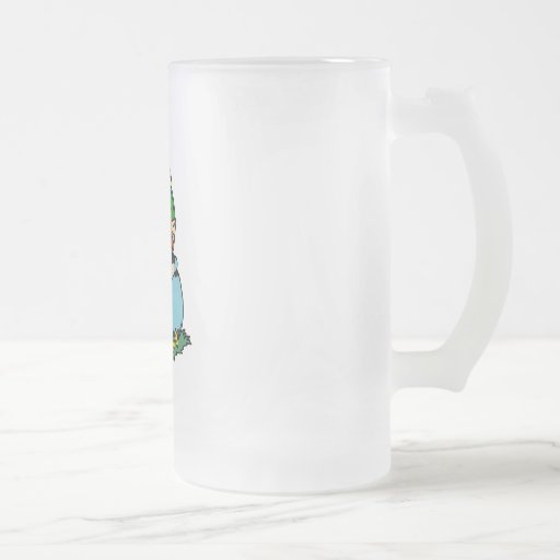 Leprechaun in Pot of Gold Coffee Mugs