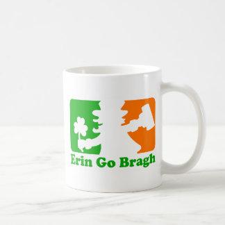Leprechaun Insignia: Erin Go Bragh Basic White Mug