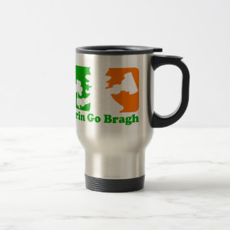 Leprechaun Insignia Erin Go Bragh Coffee Mug