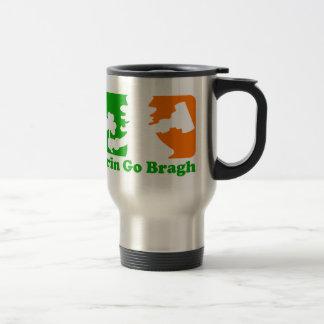 Leprechaun Insignia: Erin Go Bragh Stainless Steel Travel Mug