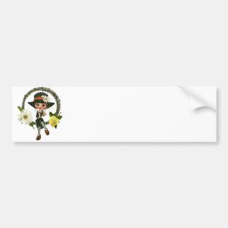 Leprechaun Kelly Bumper Sticker