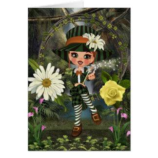 Leprechaun Kelly Card