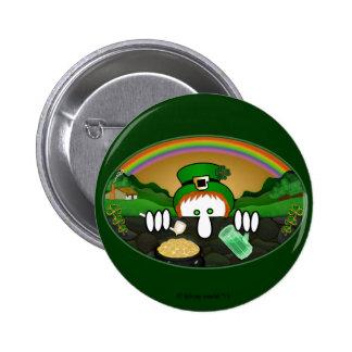 Leprechaun Kilroy Basic Button