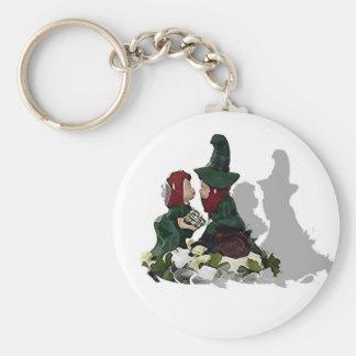 Leprechaun Love Keychain