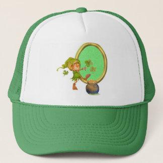 Leprechaun Luck Trucker Hat