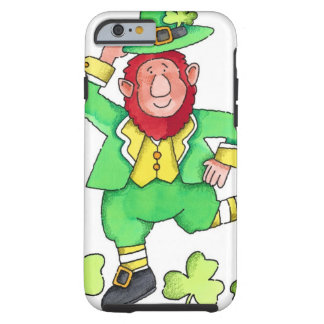 Leprechaun & Shamrocks Tough iPhone 6 Case