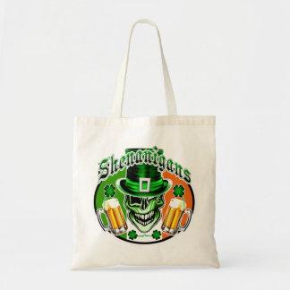 Leprechaun Skull 2: Shenanigans Budget Tote Bag