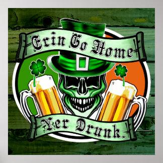 Leprechaun Skull 3: Erin Go Home Yer Drunk Poster