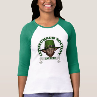 Leprechaun society St Patricks day T-Shirt