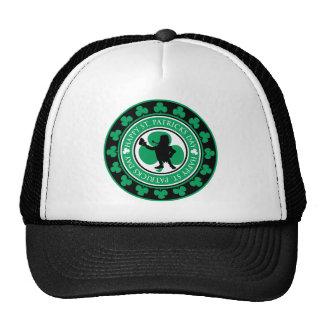 Leprechaun Stamp Mesh Hat