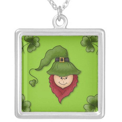 Leprechaun Sterling Silver Necklace