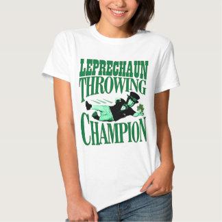 Leprechaun Throwing Champion T-Shirt