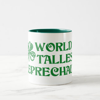 Leprechaun Two-Tone Coffee Mug