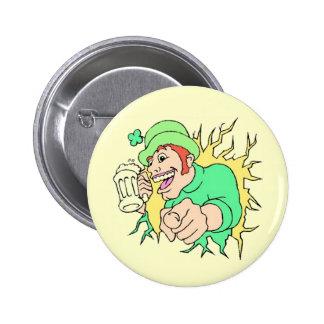 Leprechaun With Brew Button