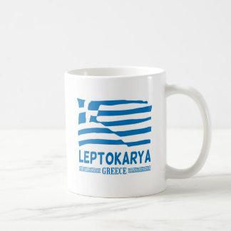 Leptokarya White Mug