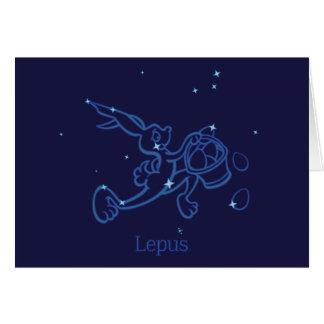 Lepus Greeting Card
