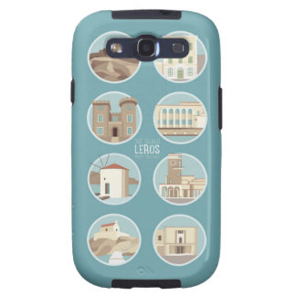 Leros monuments galaxy SIII cases