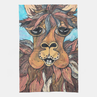 Leroy the Llama Kitchen Towel