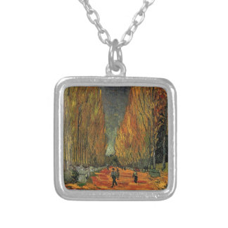 Les Alyscamps by Vincent van Gogh Fall autumn Necklace