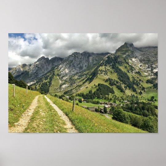 Les Aravis - Haute-Savoie, French Alps Poster