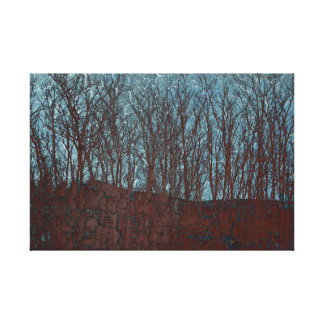 Les Arbres Wrapped Canvas