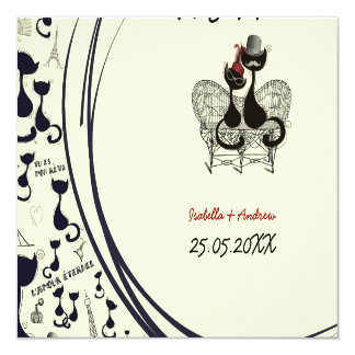 Les Aristochats Noirs - french passion Card