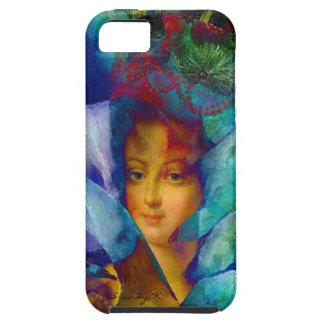 Les Charmeuses Marie Antoinette Artsy Portrait iPhone 5 Covers