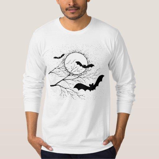 Les chauve-souris d'Halloween - T-shirt