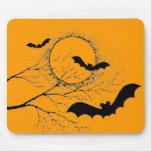 Les chauve-souris d'Halloween - Tapis De Souris