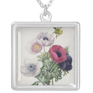 'Les Choix des Plus Belles Fleurs' Silver Plated Necklace
