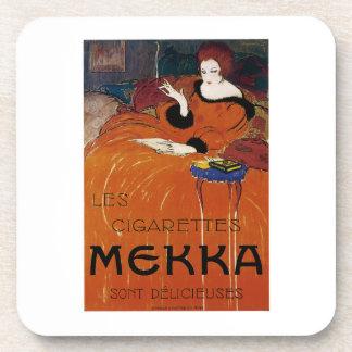 Les Cigarettes Mekka Beverage Coaster