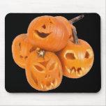 Les citrouilles d'Halloween - Tapis De Souris