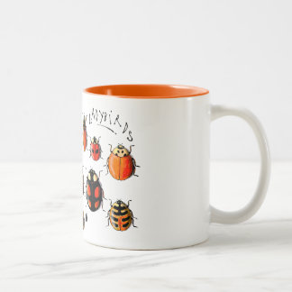 Les Coccinelles - Ladybirds Two-Tone Coffee Mug