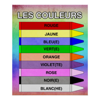 Les Couleurs (The Colors) Poster