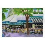 LES DEUX MAGOTS  PARIS NOTE CARD
