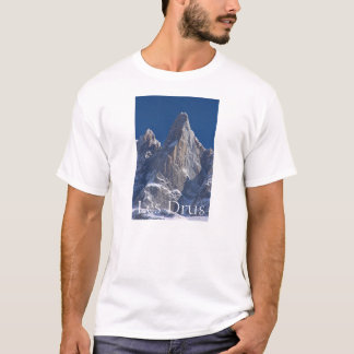 Les Drus Peaks of France Alps T-Shirt