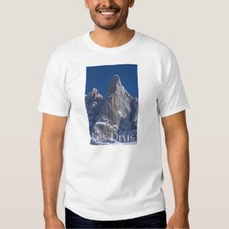 Les Drus Peaks of France Alps T Shirts