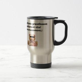 Les enfants grandissent... stainless steel travel mug