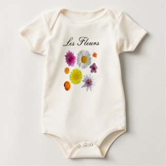 Les Fleurs One Piece Outfit for Babies & Toddlers Bodysuits