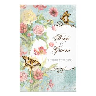 Les Fleurs Peony Rose Tulip Floral Flowers Wedding 14 Cm X 21.5 Cm Flyer