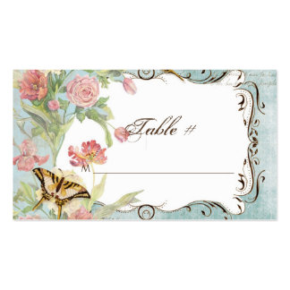 Les Fleurs Peony Rose Tulip Floral Flowers Wedding Pack Of Standard Business Cards