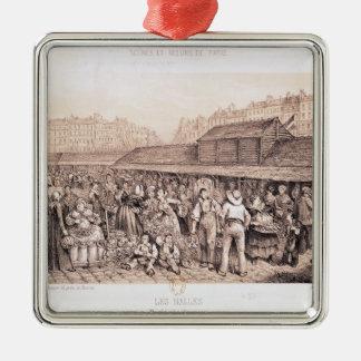 Les Halles, 1855 Christmas Ornament