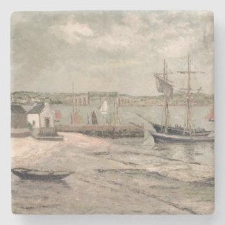Les Huitrieres, La Trinite-Sur-Mer, Morbihan, 1912 Stone Coaster