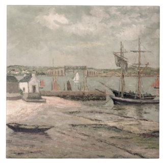 Les Huitrieres, La Trinite-Sur-Mer, Morbihan, 1912 Tile