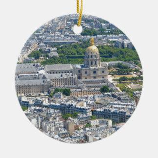 Les Invalides in Paris, France Christmas Ornament